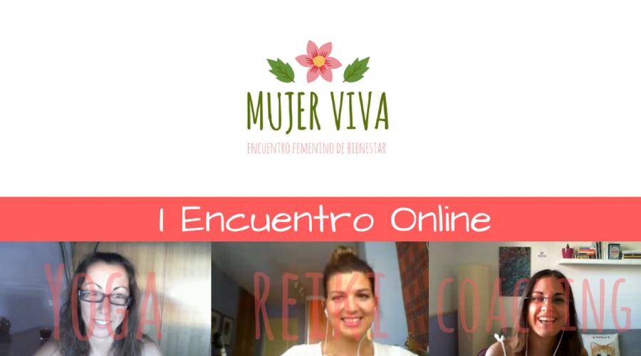1er Encuentro Digital Mujer Viva – Yoga + Reiki + Coaching