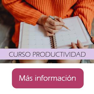 cursos de gestión del tiempo y productividad