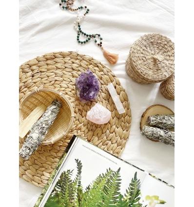 limpiar el hogar con piedras y cristales