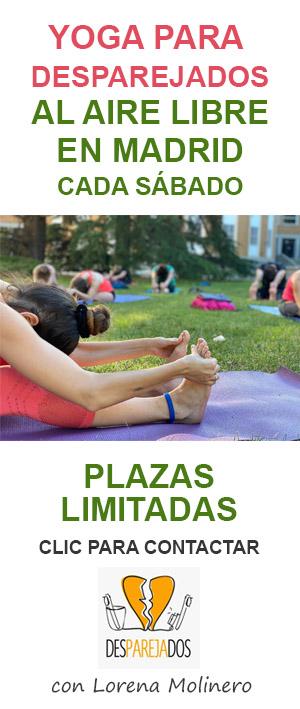 Yoga desparejados y Lorena Molinero