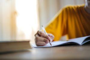 escribir una carta para fin de año