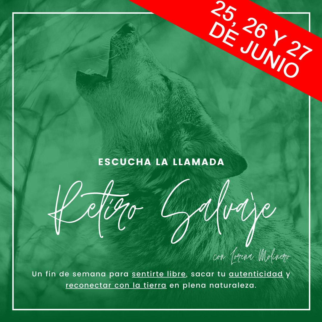 retiro salvaje segunda edición con Lorena Molinero