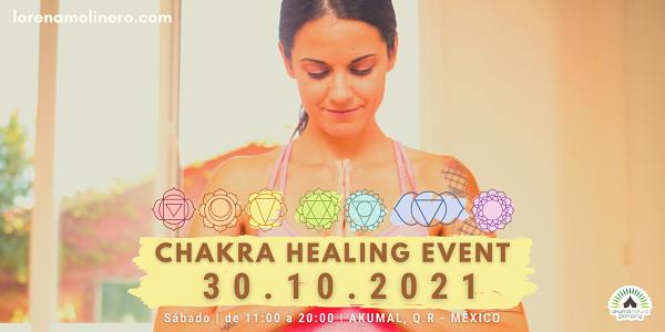 CHAKRA HEALING EVENT TULUM